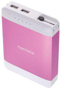 Sanho-HyperJuice-Plug-USB-Battery-Pink