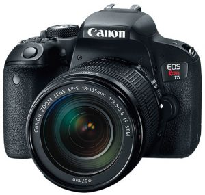Canon-Rebel-T7iw-EFS18-135-left