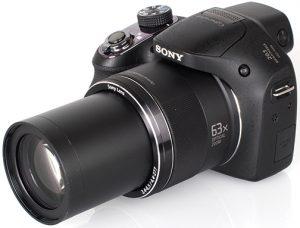 Sony-Cyber-shot-DSC-H400-left