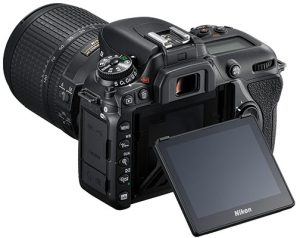 Nikkon-D7500-LCD
