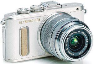 Olympus-PEN-E-PL8-white-w-14-42mm