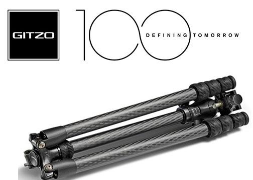 Gitzo-100YR-Logo-Banner-w-tripod