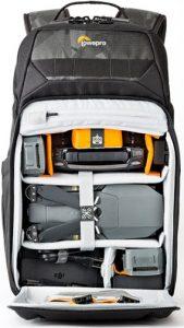 Lowepro-DroneGuard-BP200-w-gear