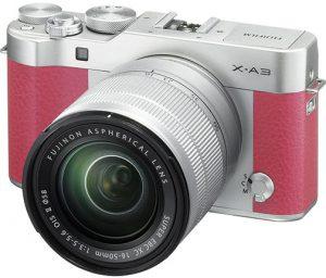 Fujifilm-X-A3-pink-left