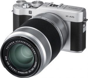 Fujfilm-X-A5-w-lens-black