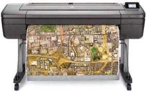 HP-DesignJet-Z6-front-output