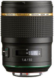 Ricoh-HD-Pentax-FA-50mm-f1.4-lens