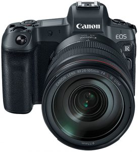 ILC global market Canon-EOS-R-front full-frame mirrorless