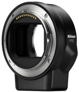 Nikon-FTZ-mount-adapter-angle