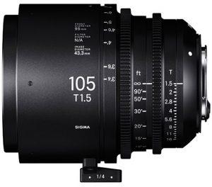 2020 NAB Product ShowcaseSigma-Cine-105mm-T1.5-FF