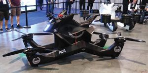 HoverSurf-Hoverbike-S3 at CES 2019