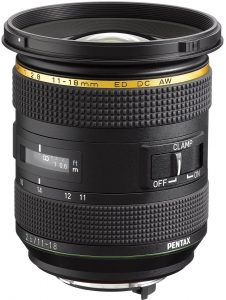 Ricoh wide-angle lenses HD-Pentax-DA-STAR-11-18mm-f2.8-ED-DC-AW