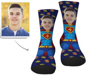 MyPhotoSocks-Superhero