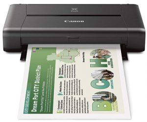 mobile printers Canon-Pixma-iP110-front