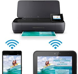 mobile printers HP-OfficeJet-250–connecting