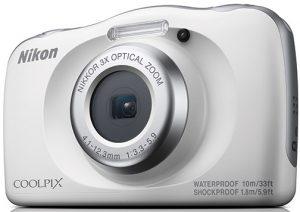 Nikon-Coolpix-W150-white-slant