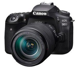 Canon-EOS-90D- DSLRleft