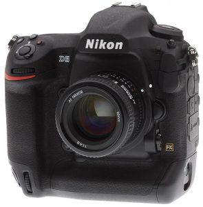 Nikon-D5-left professional DSLRs