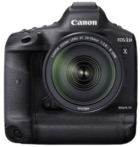 Canon EOS-1D X Mark III front