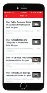 Canon-LF-APP-videos large-format printer app