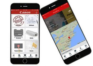 What's Happening October 2019 Canon-large-format-printer-APP-banner