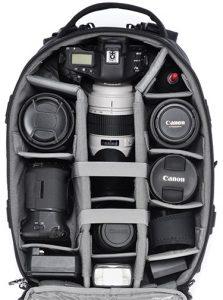 Tamrac-Anvil-23-open camera bags