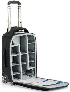 camera bags ThinkTank-Airport-Advantage-open
