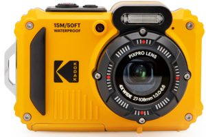 rugged adventureproof compact cameras Kodak-PixPro-WPZ2-front