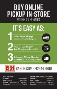 Tech Corner BandH-Buy-online-pickup-store