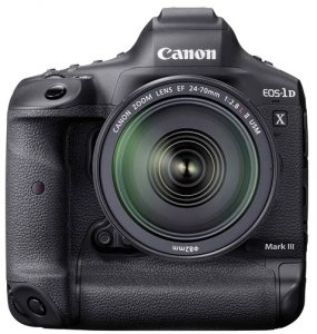 Canon-EOS-1D-X-Mark-III-Front-w-EF-24-70mm-f2.8L