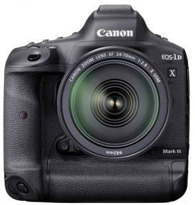 2020 wedding photography productCanon-EOS-1D-X-Mark-III-Front-w-EF-24-70mm-f2.8L