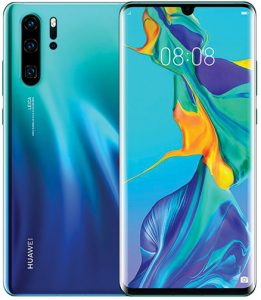 CES 2020 Huawei-P30-Pro-front-back