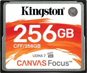 Kingston-256GB-Canvas-Focus-CompactFlash
