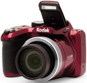 JK Imaging Kodak-PixPro-AZ401-red-left