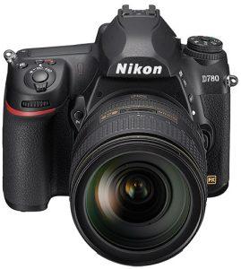 Nikon-D780-fronttop