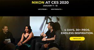 Nikon at CES 2020 Banner