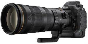 Nikon D6 Flagship DSLR Nikon-D6-w-120_300VR_left flagship Nikon D6 DSLR