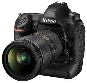 flagship Nikon D6 DSLR Nikon D6 Flagship DSLR Nikon-D6_24_70VR_left