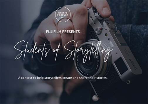 Fujifilm-Students-Storytelling-contest-banner