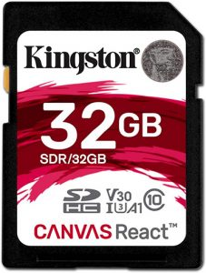 canvas plus Kingston-Canvas-React-Plus-32GB