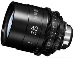 cinema lenses Sigma-Cine-PL-40mm-T1.5-Prime