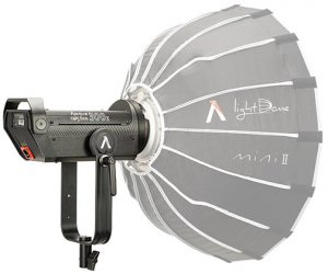 Aputure-Light Storm LS -300x-wLightDome-mini-II