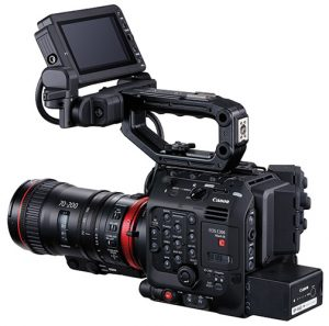 Canon-C300-Mark-III–w-Cine-Servo-70-200mm—LCD
