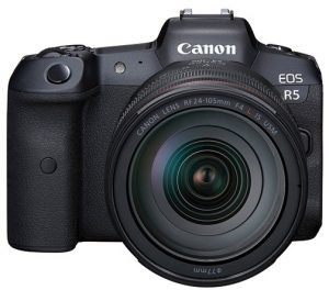 broad spectrum mirrorless cameras Canon-Canon-EOS-R5-front