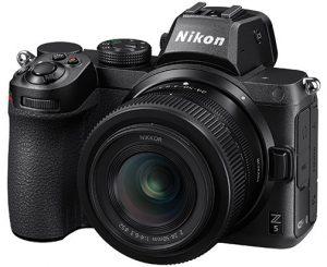 Nikon Z 5 Yellow Nikon-Z-5-w24-50_4-6-3_left