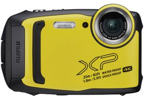 rugged adventureproof compact camerasFujifilm-XP140-yellow-front