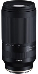 e-mount telephoto zoom Tamron-70-300mm-f4.5-6.3-Di-III-RXD-vertical