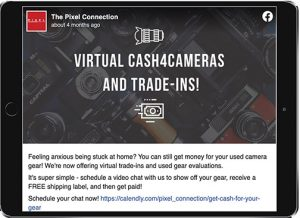 Pixel-Cash-Cameras
