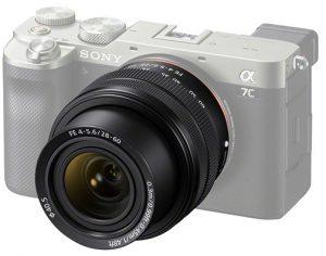 SOny-Sony-FE-28-60mm-F4-5.6-onALpha-7C