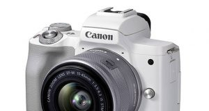 Canon-EOS-M50-Mark-II-white-left